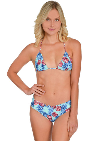 BLUE COSMO Fixed Triangle Top