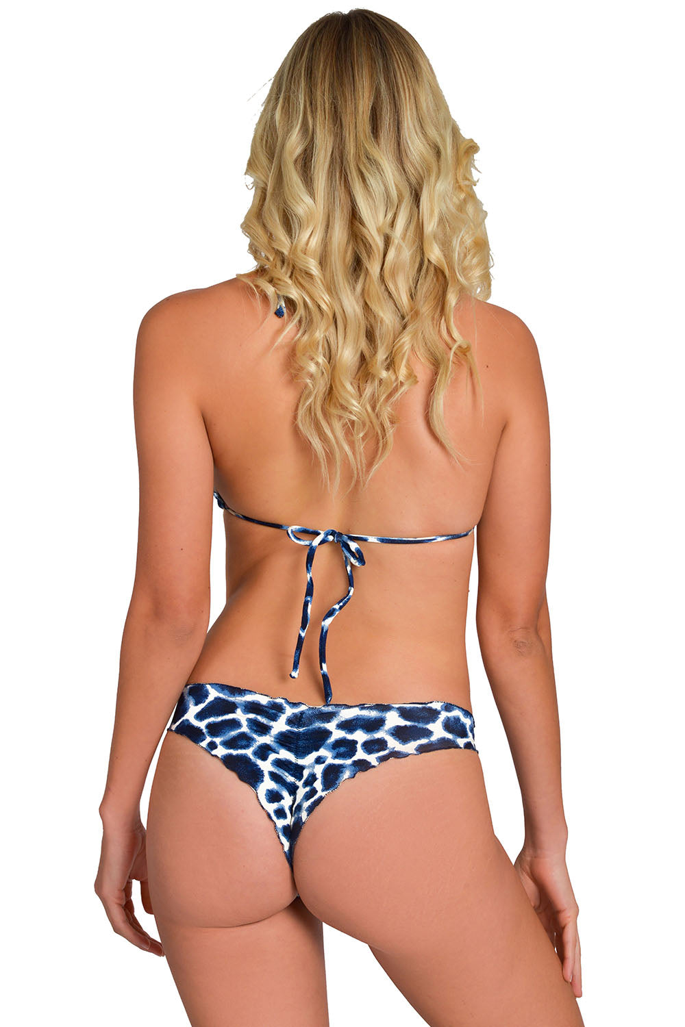 Blue Jaguar Less Coverage Signature Bikini