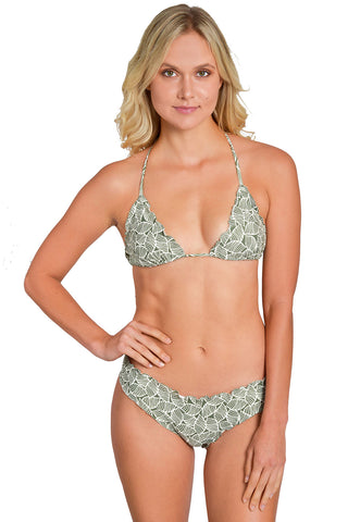 PEARL IVORY Less Coverage signature scrunch Bottom
