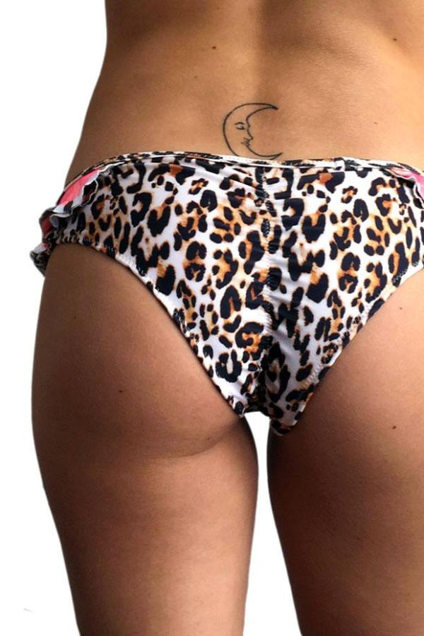 Animal Ruffle Scrunch Bottom back