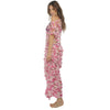 Swell Pink Crochet Long Dress