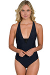 BLACK Maya Unlimited Mesh One Piece
