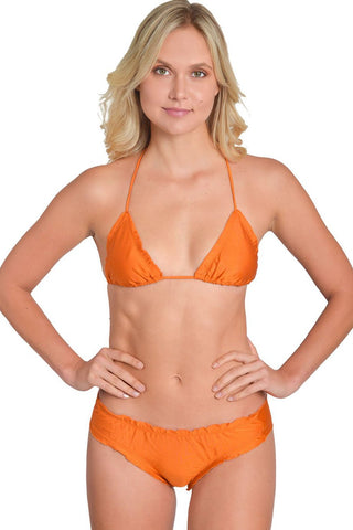 GLOW WILD ORANGE Less Coverage Signature Bottom