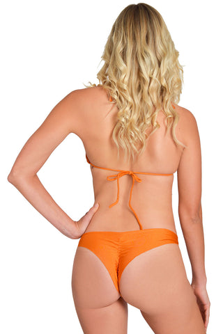 SEASON LEAVES Scrunch Bikini Bottom