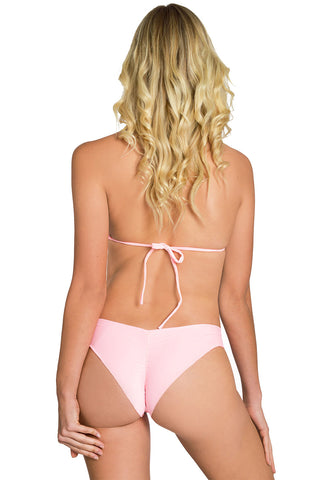 GLOW WILD ORANGE Signature Scrunch Bikini Bottom