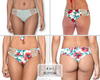 SEASON LEAVES Reversible Bikini Bottom by Maya Swimwear