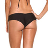 BLACK Palermo Ruffle Bottom