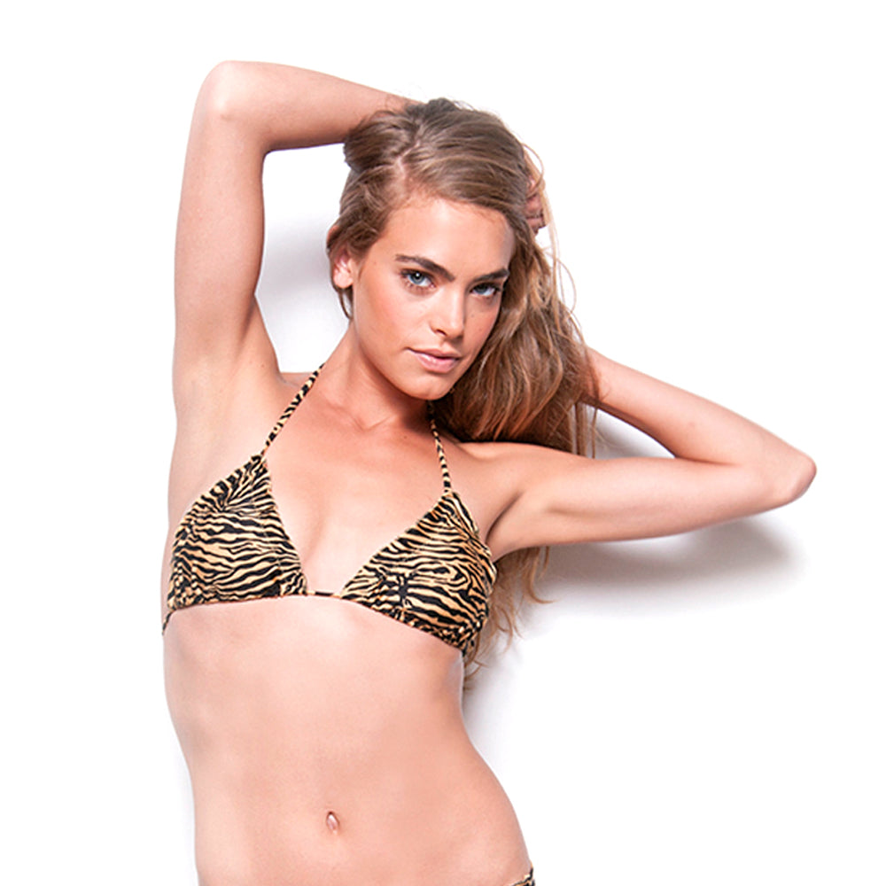 Golden Zebra Signature Triangle Top
