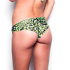 Green Amazonia Scrunch Bikini Bottom