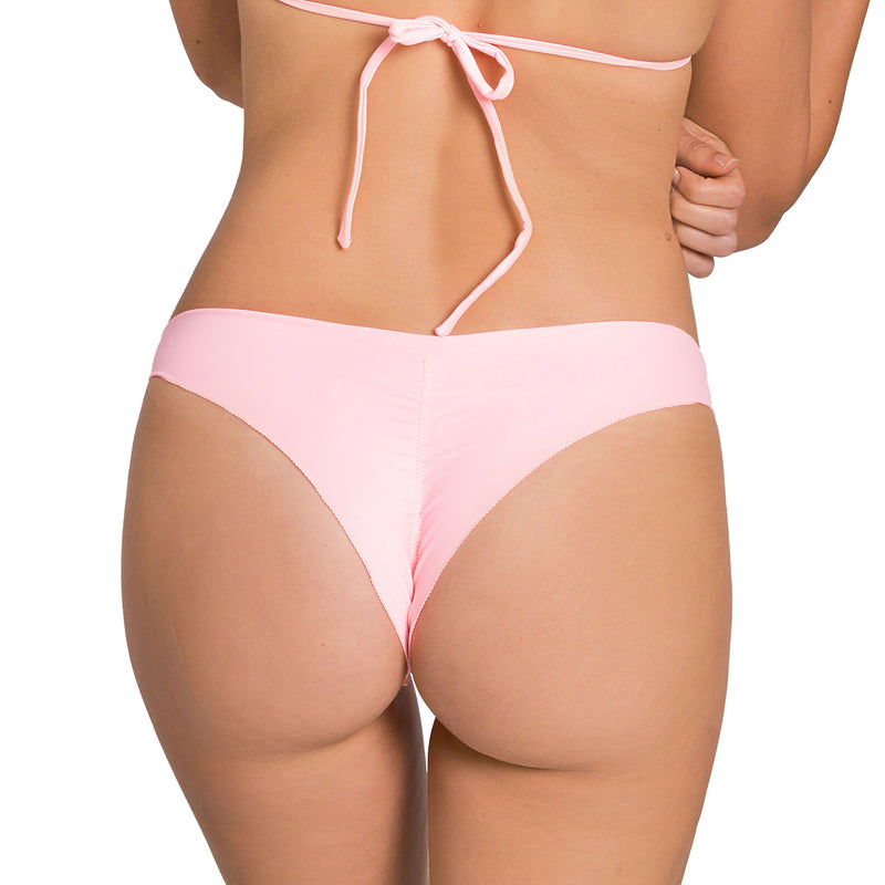 Power Pink Less Coverage Signature Bottom