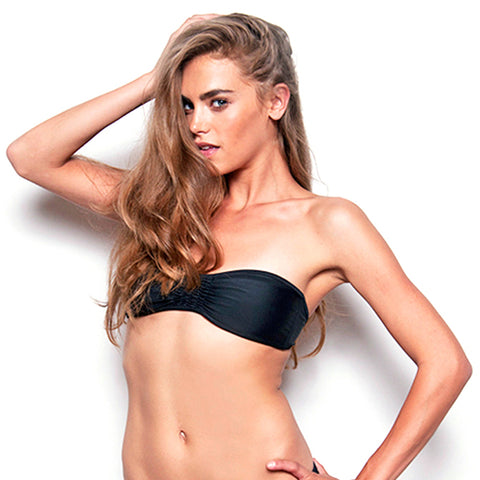 Snake Signature Bandeau Bathing Suit (FINAL SALE)