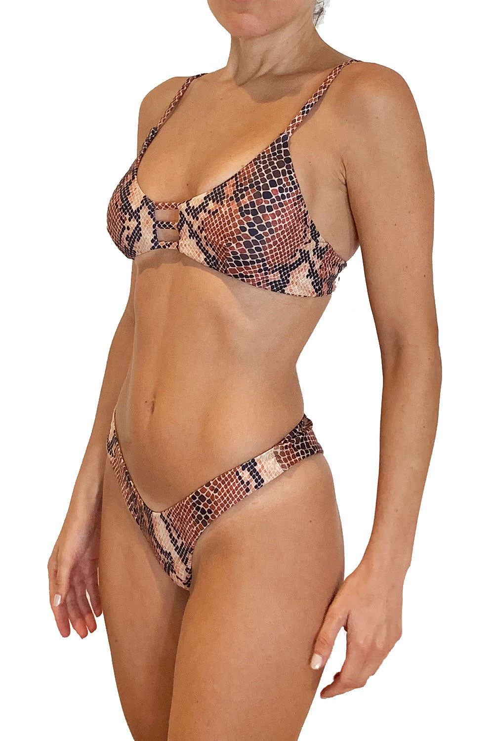 MAYA UNLIMITED String Bralette Bikini Set
