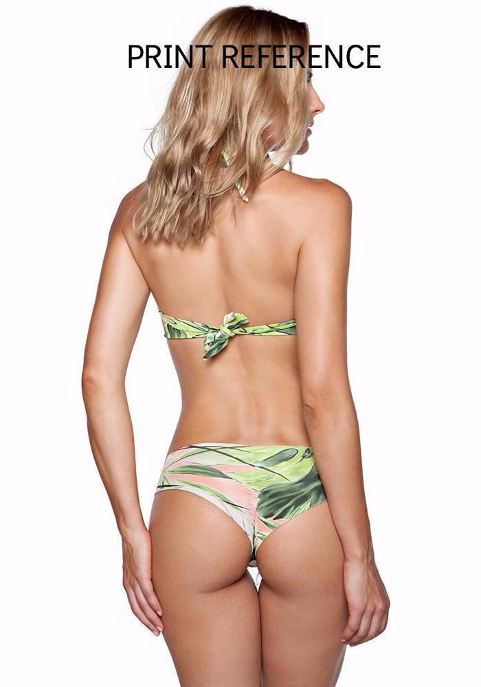 SAMANA green Full Coverage BIKINI Bottom | Maya Swimwear