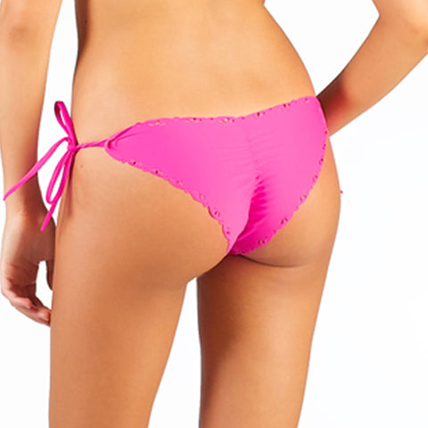 Tiger Rosê Tie Side Scrunch Bikini Bottom