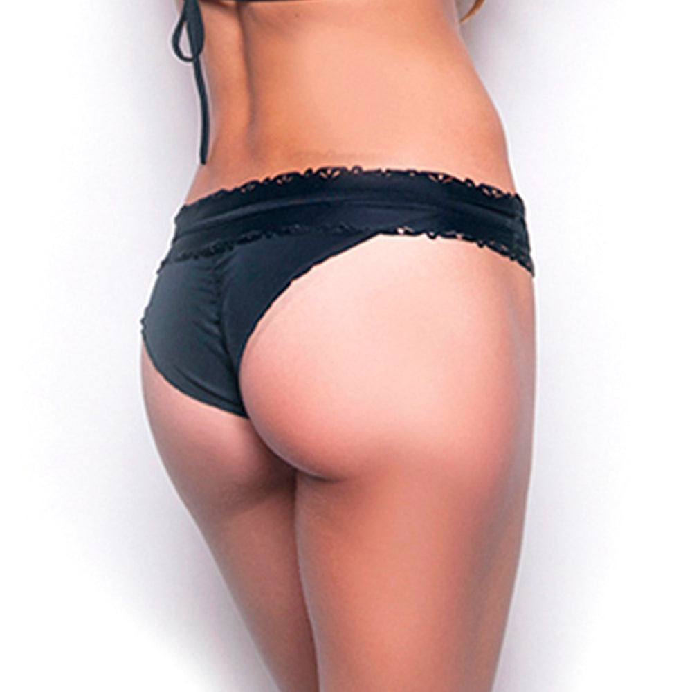 Tinkerbell Black Banded Bottom