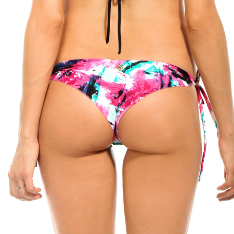 BLACK EBONY Colorblock Signature Scrunch Bottom