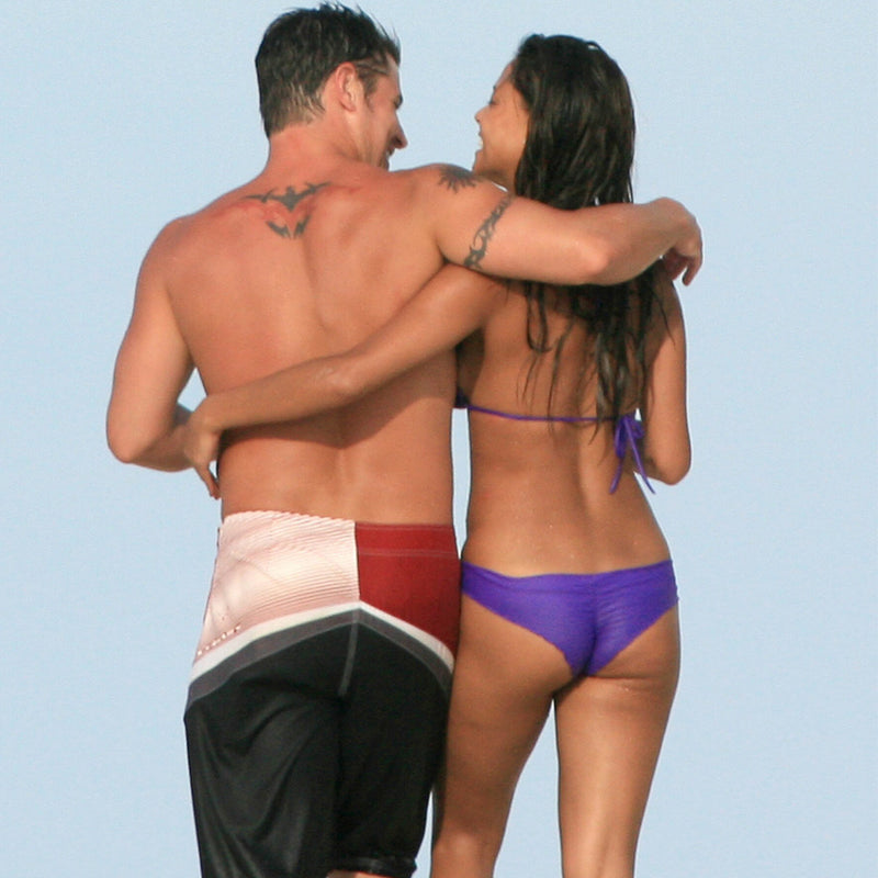Celebrity Swimwear Violet Signature Triangle Top As Seen On Vanessa Minnillo