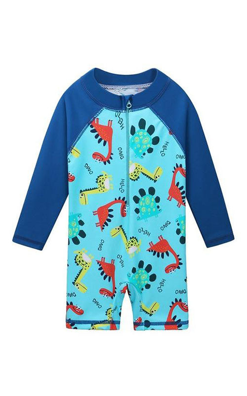 MAYA UNLIMITED Boys Sun Protection Long Sleeve Swimsuit