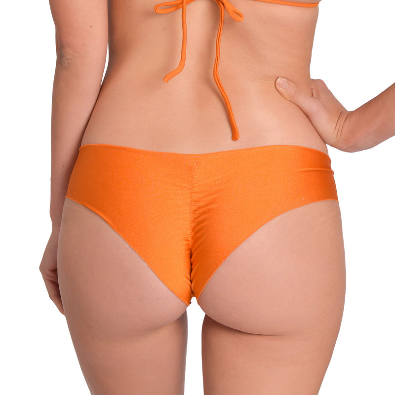 Glow Wild Orange  Signature Scrunch Bikini