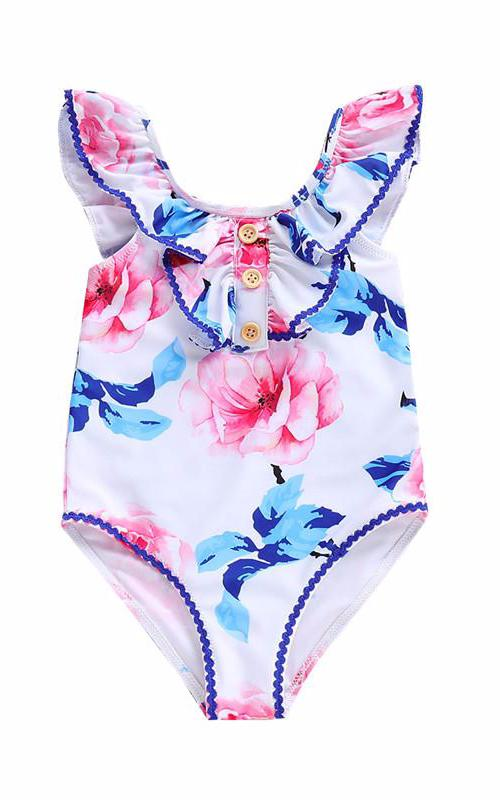 Maya Unlimited Flower One Piece for Girl