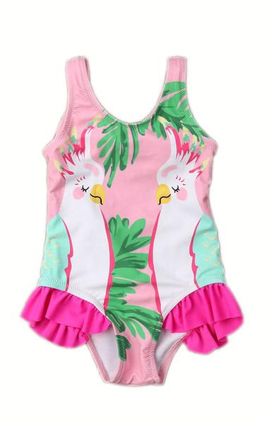 MAYA UNLIMITED Baby Parrot One-Piece Swimwear