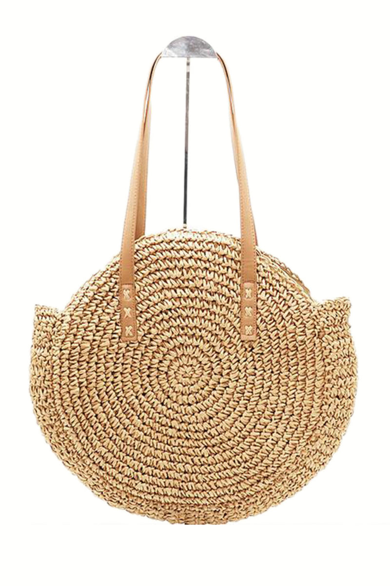 Maya Unlimited Round Natural Tote