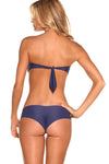 HIBISCUS VALLEY Signature Scrunch Bikini Bottom