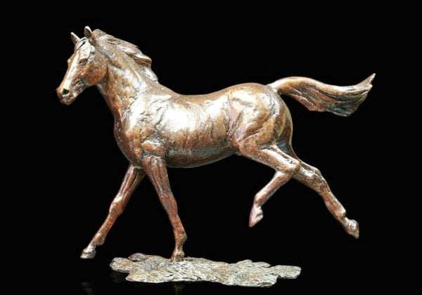 Grace Cantering Horse Sculpture Limited Edition
