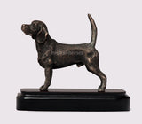 Beagle Dog Cold Cast Bronze Sculpture / Trophy / Gift