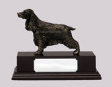 Cocker Spaniel Dog Cold Cast Bronze Sculpture / Trophy / Gift