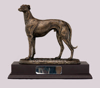GUS Greyhound Dog Cold Cast Bronze Sculpture / Trophy / Gift