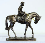 Derby Day Bronze Horse Racing Trophy