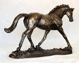 Elegance Cold Cast Bronze Dressage Horse Sculpture / Trophy / Gift