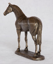 Small Thoroughbred Horse Bronze Equestrian Trophy