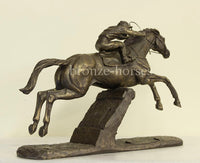 Istabraq Racehorse Cold Cast Bronze Horse Racing Sculpture / Trophy / Gift