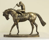 On Parade Cold Cast Bronze Horseracing Racehorse Sculpture / Trophy / Gift (small version)