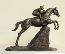 Steeplechaser (Small version) Bronze Horse Racing Trophy