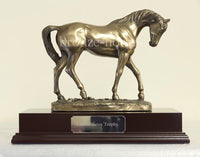 Graceful Horse Cold Cast Bronze Equestrian Sculpture / Trophy / Gift