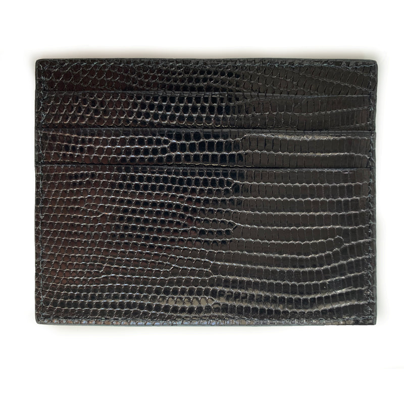 BLACK LIZARD CARDHOLDER By LAYKH