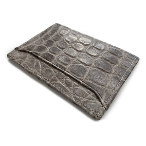 NATURAL CROCODILE CARDHOLDER By LAYKH