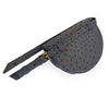 Hailey Laykh Belt Bag (Agate Grey Ostrich) Hong Kong Dubai