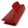 NANCY Red Crocodile Clutch