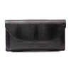 NICO Black Lizard Clutch Bag by LAYKH