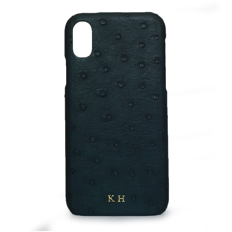 FOREST GREEN CROCODILE PHONE COVER