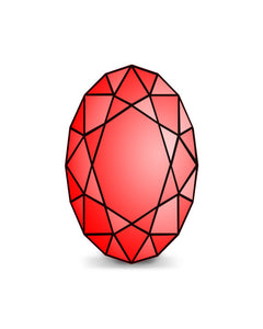 Created Ruby Oval
