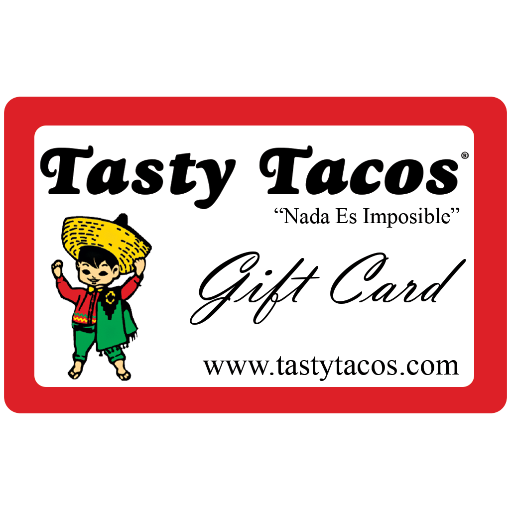 Tasty Tacos gift card