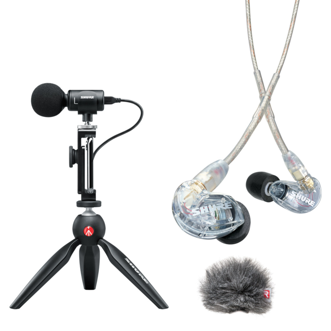 Easy Podcast Equipment Kit (iPhone & Android) - podcast-outfitters
