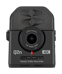 Zoom Q2n-4K Handy 4K Camcorder w/ Stereo Audio