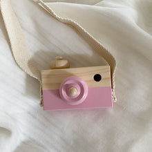 Load image into Gallery viewer, Wooden Camera - Pink