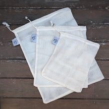 Load image into Gallery viewer, Cotton Produce Bags - set of 3